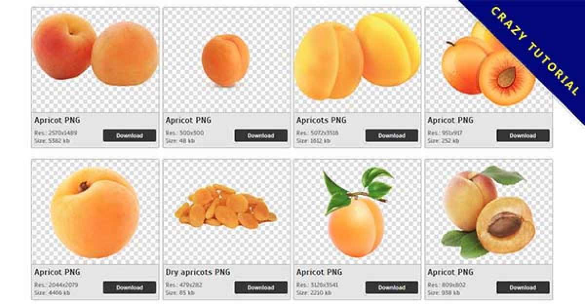 29 free Apricot PNG images to download
