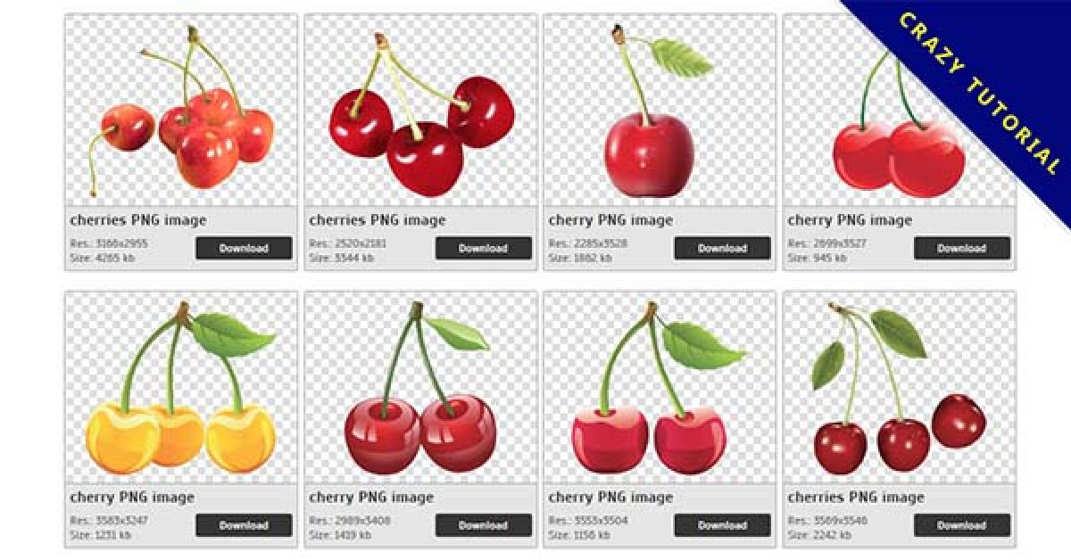 48 Cherry PNG images to download for free