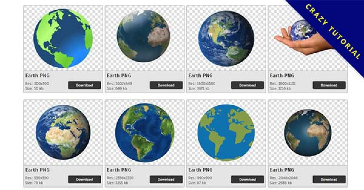41 Earth PNG images are free to download