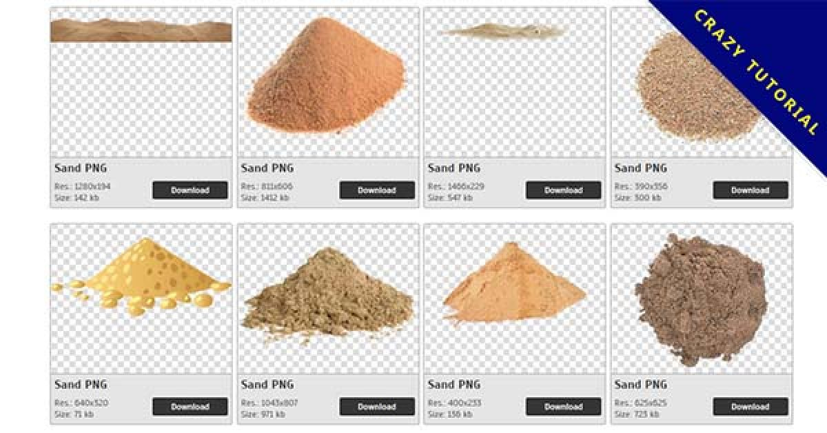 55 Sand PNG image collection for free download