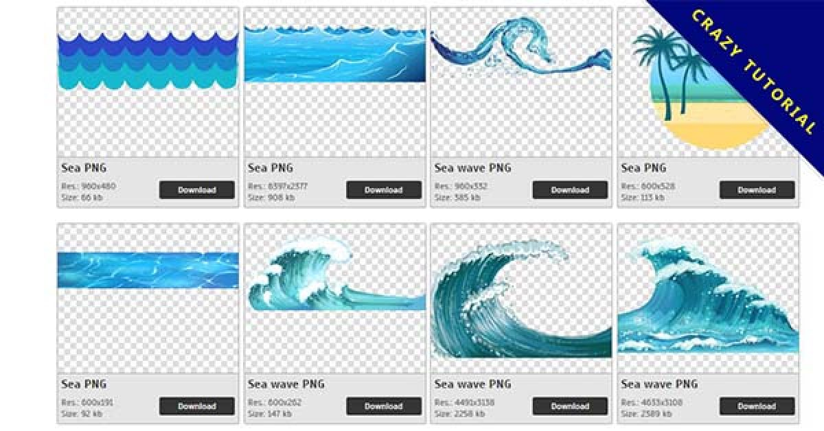 35 Sea PNG images are free to download