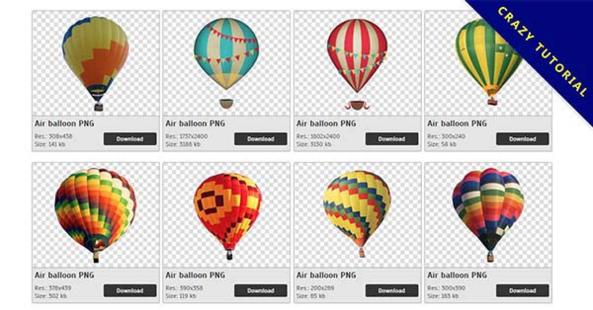 44 Air balloon PNG image collection for free download