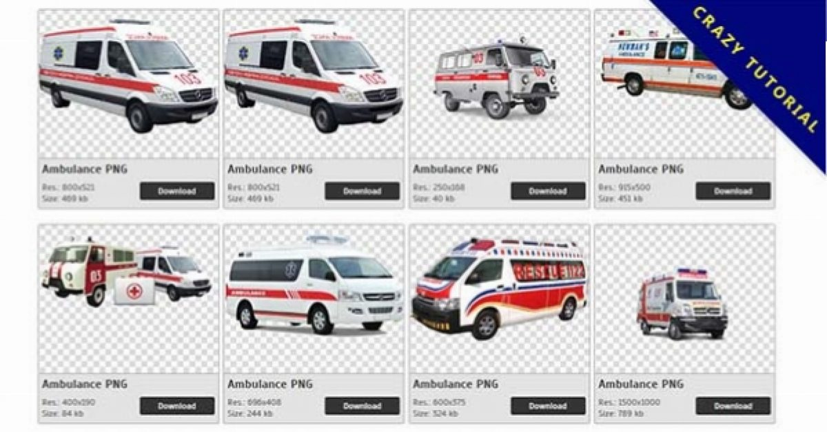63 Ambulance PNG images are available for free download