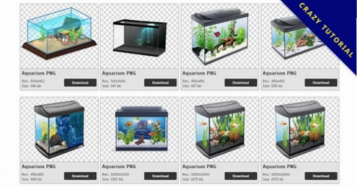 80 Aquarium PNG images are downloaded for free