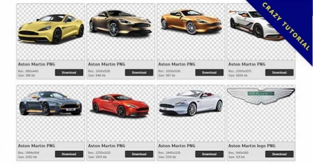 55 Aston Martin PNG images free to download