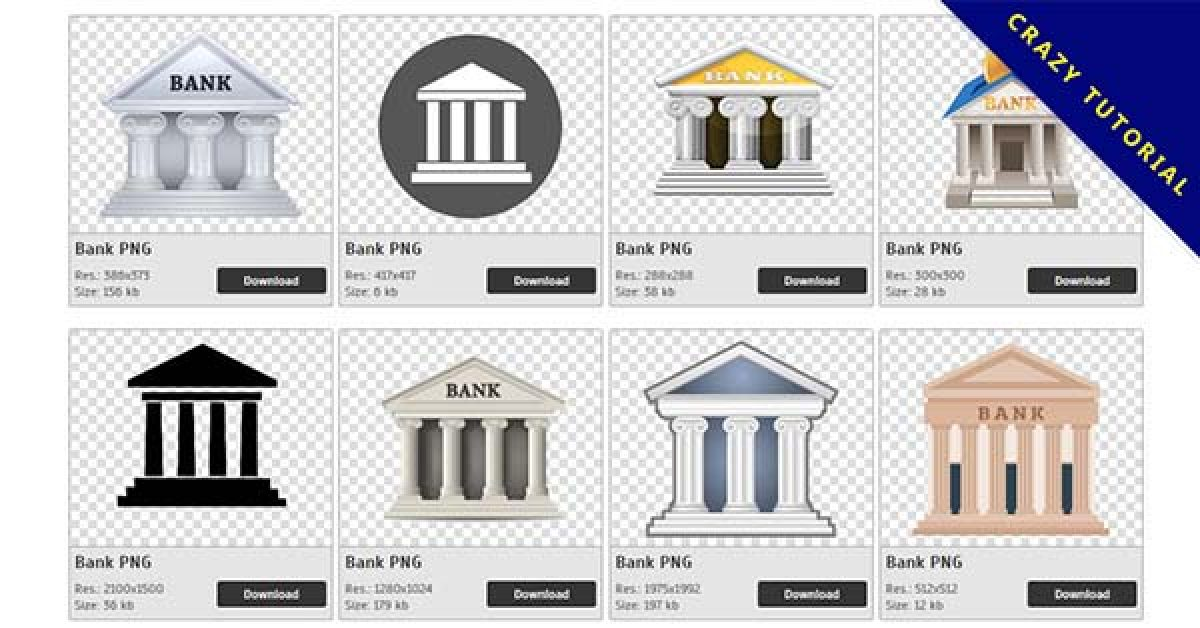 29 Bank PNG images for free download