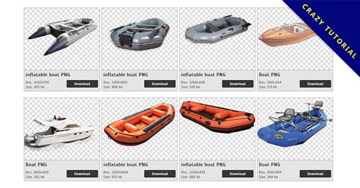76 Boat PNG images are free to download