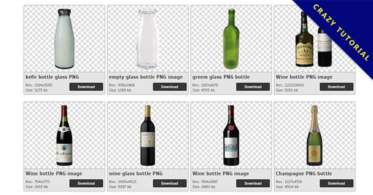 75 Bottle PNG images are free to download