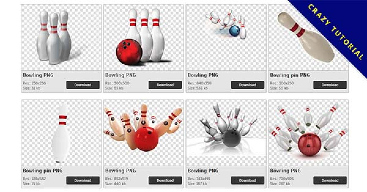 67 Bowling PNG images free to download