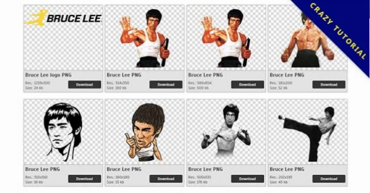 45 Bruce Lee PNG images for free download