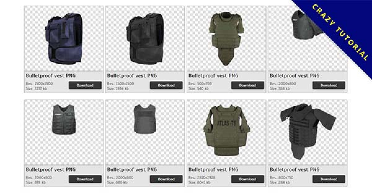 74 Bulletproof vest PNG images Collection Free Download