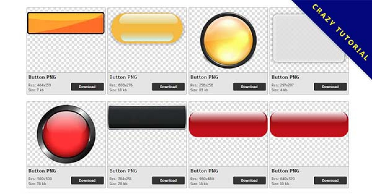187 Buttons PNG images are available for free download