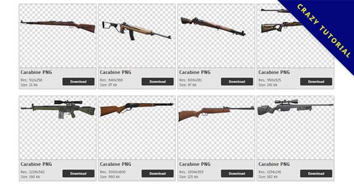 57 Carabine PNG images are free to download