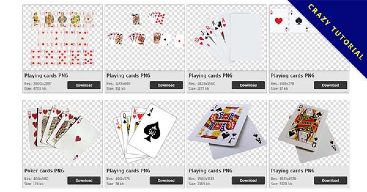 33 Cards PNG images for free download