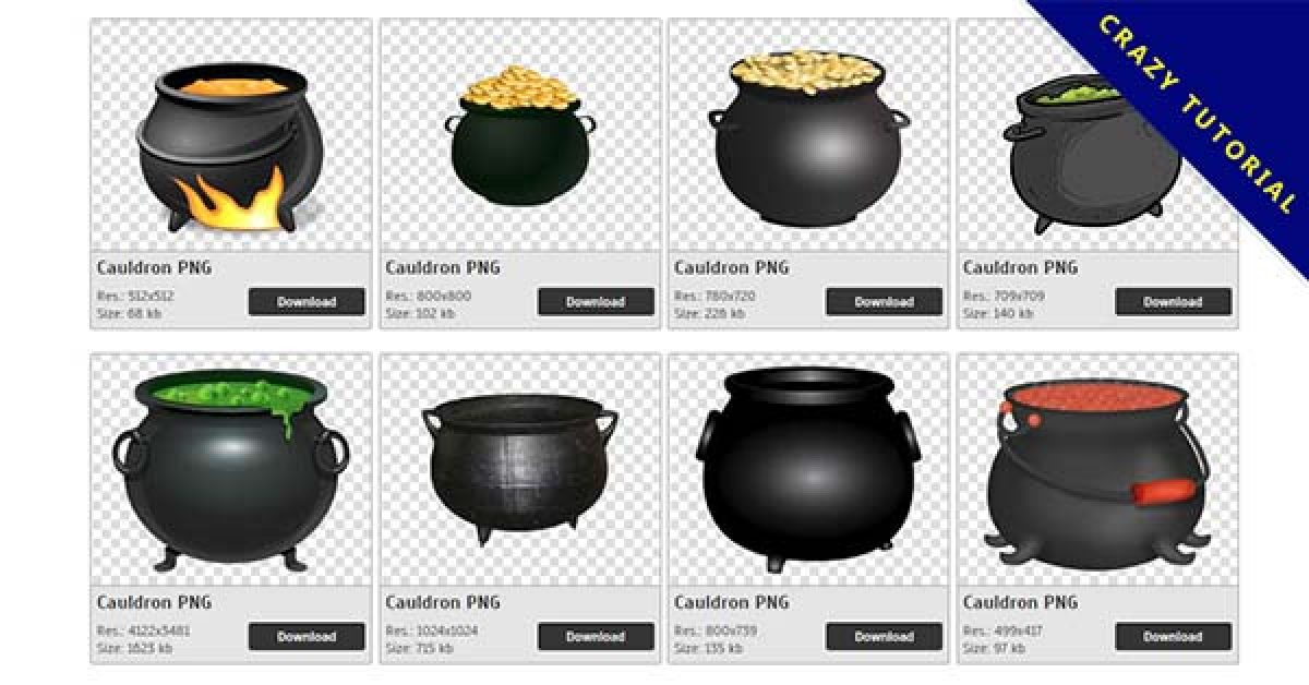 43 Cauldron PNG image collection for free download
