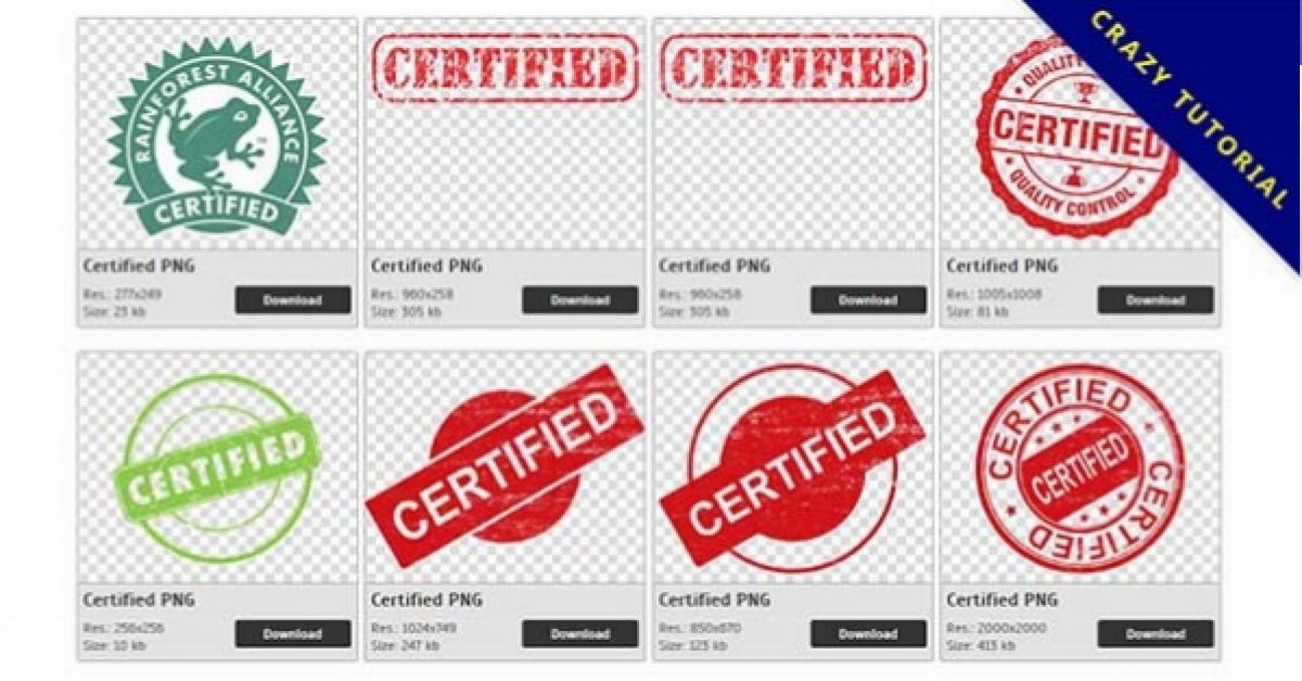 36 Certified PNG images free to download