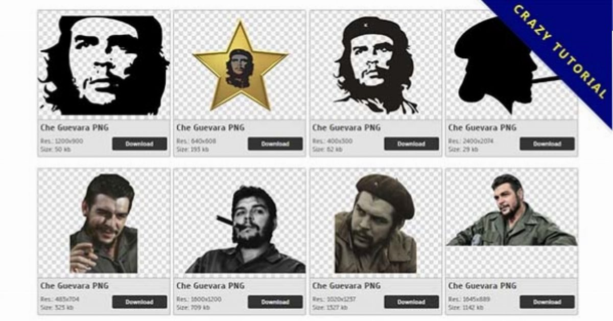 33 Che Guevara PNG images for free download