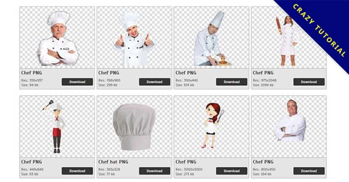 212 Chef PNG images are free to download