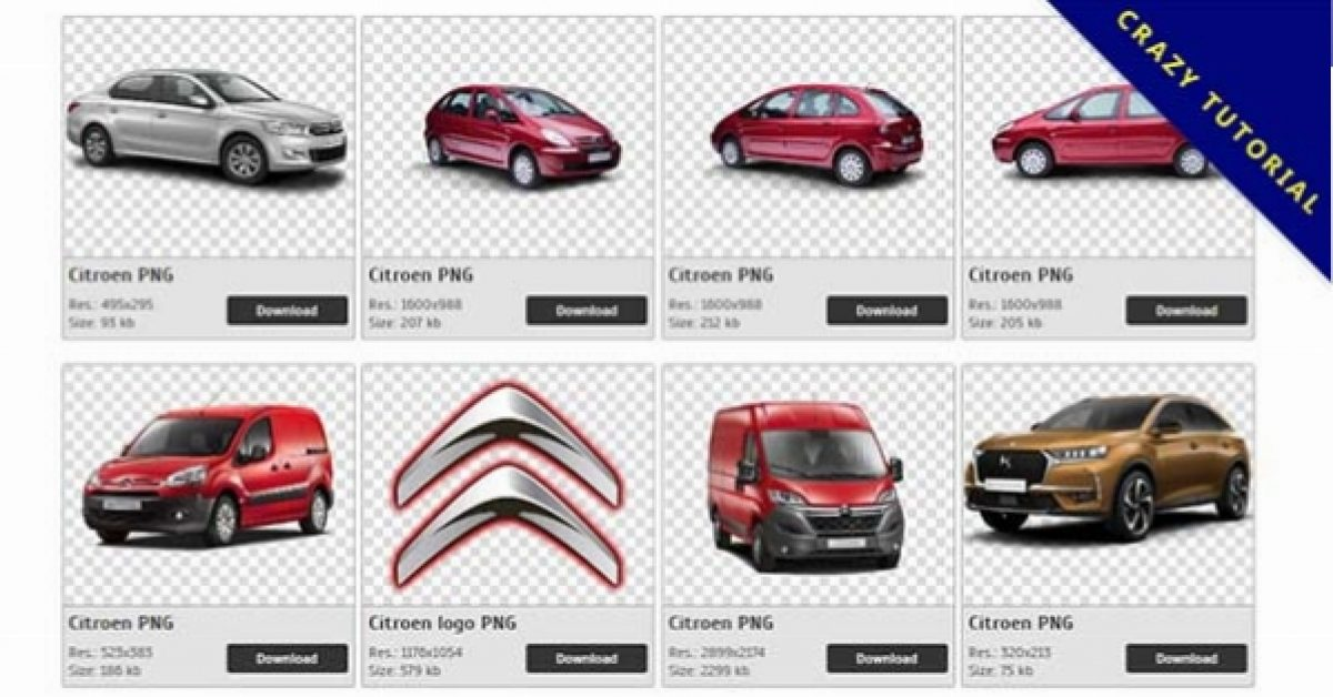 93 Citroen PNG images are free to download