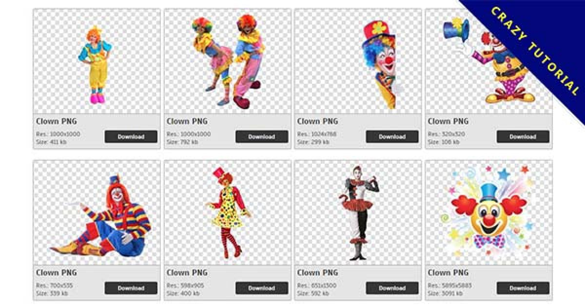 76 Clown PNG images Collection Free Download