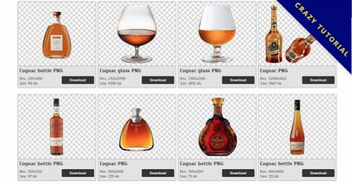 47 Cognac PNG images for free download