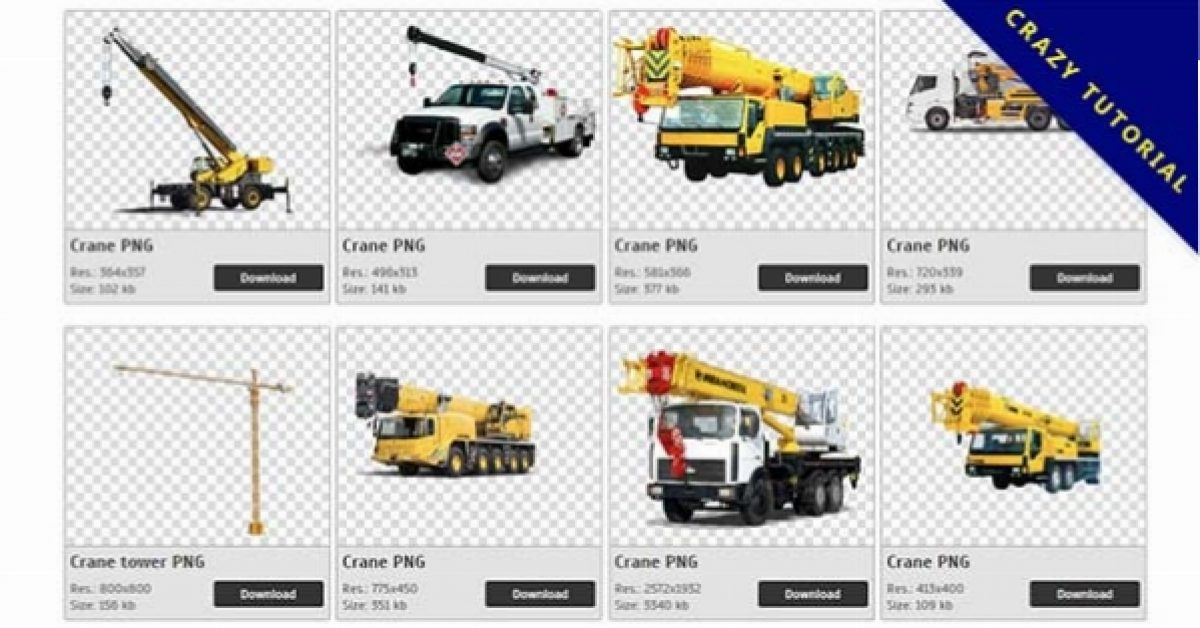 28 Crane PNG images are free to download