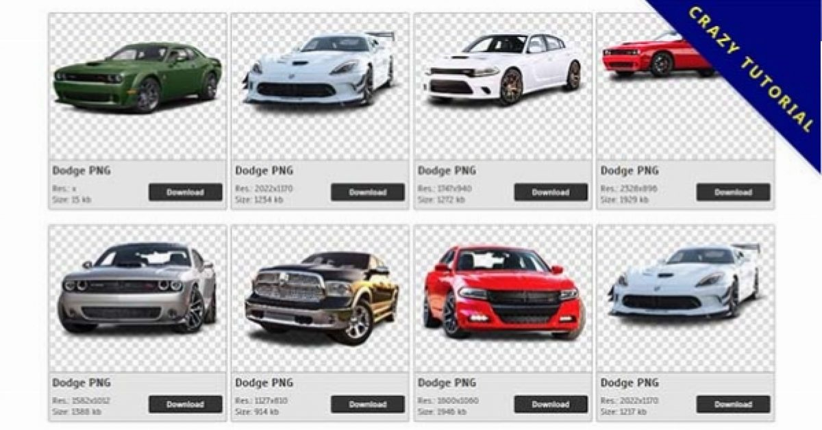 117 Dodge PNG image collections are available for free download