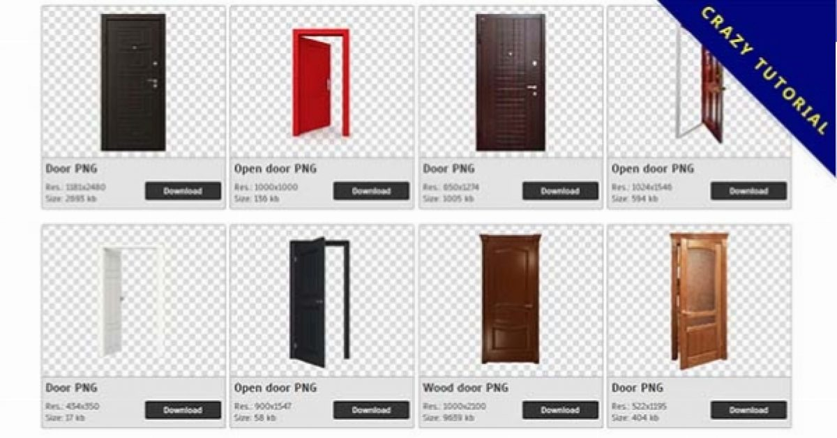 83 Door PNG image collections for free download