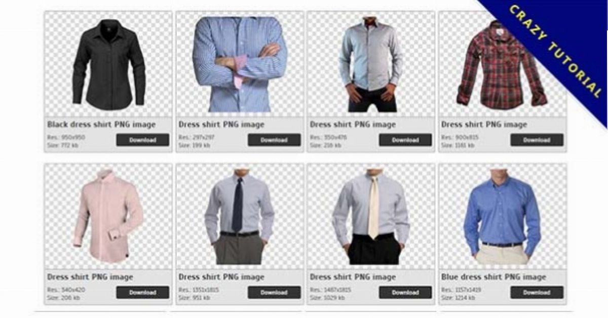 58 Dress shirt PNG image collection for free download