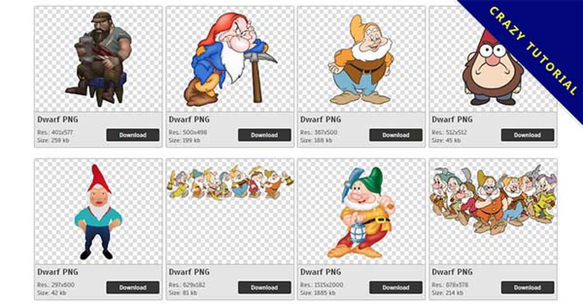 83 Dwarf PNG images for free download