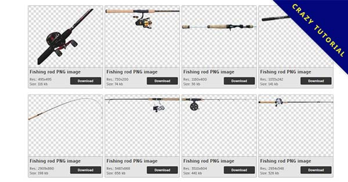 28 Fishing Pole PNG images for free download