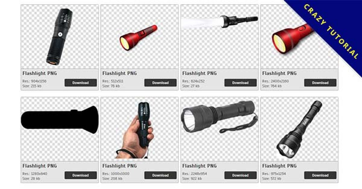 176 Flashlight PNG images are free to download