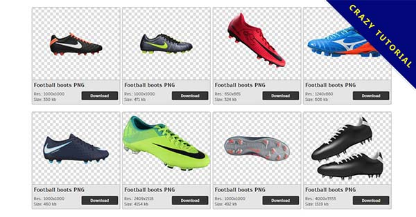 Football boots PNG transparent background Free Download