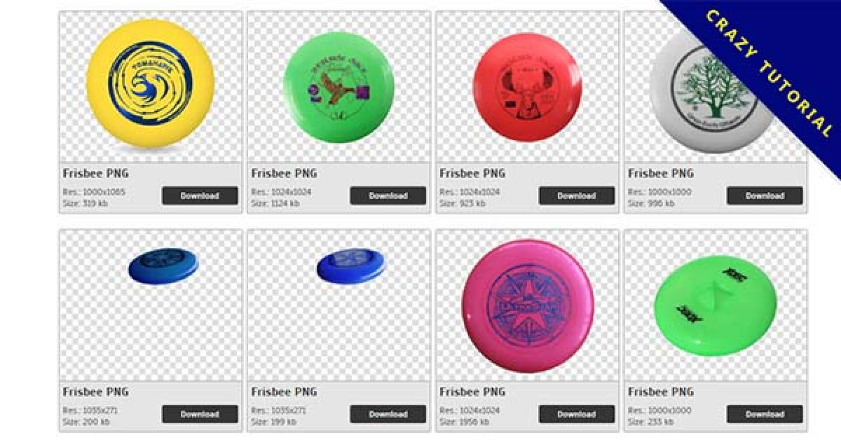 63 Frisbee PNG images for free download