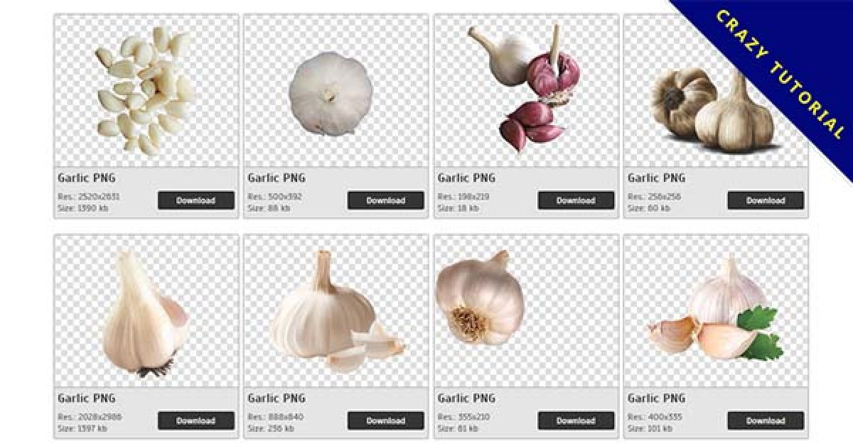 43 Garlic PNG images for free download