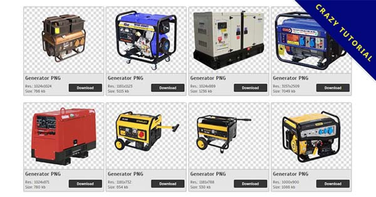64 Generator PNG image collection free download