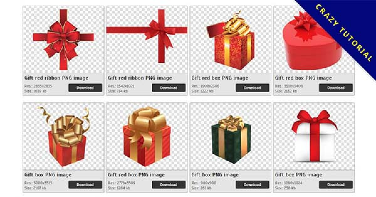 48 Gift PNG images for free download
