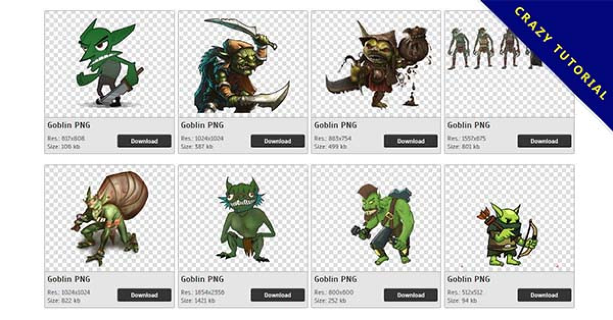 32 Goblin PNG images for free download