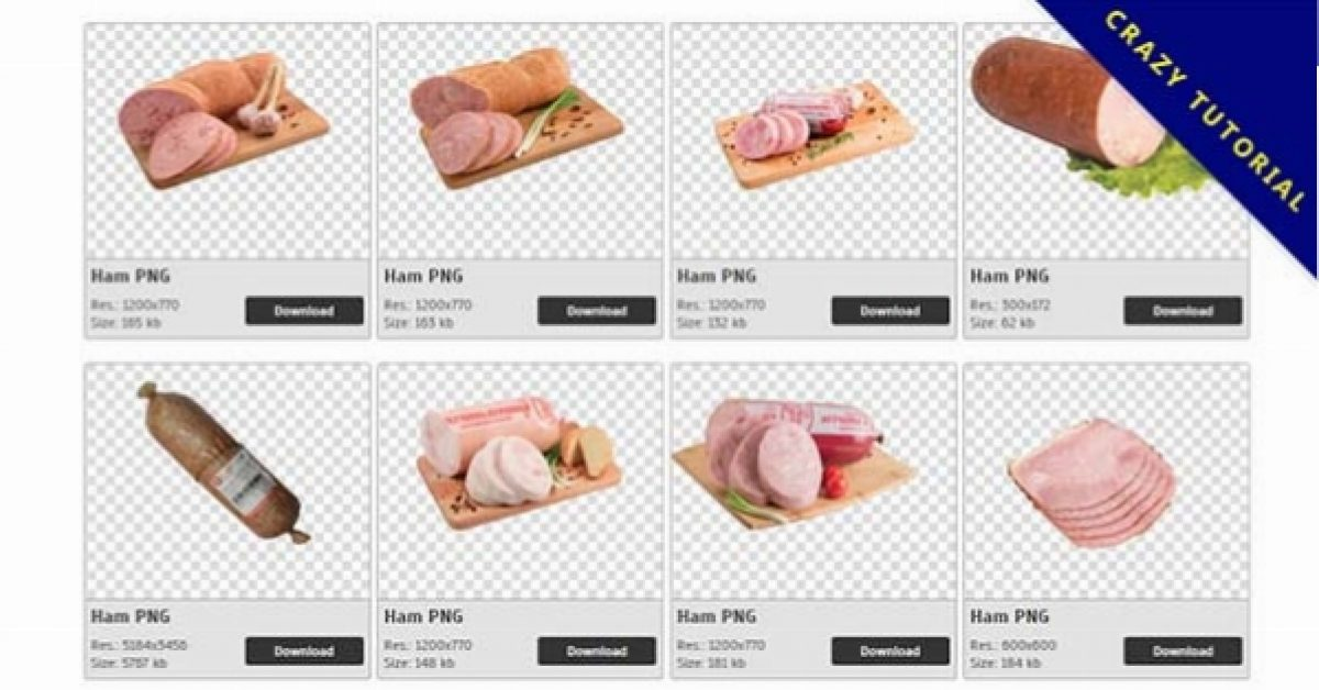 72 Ham PNG images for free download