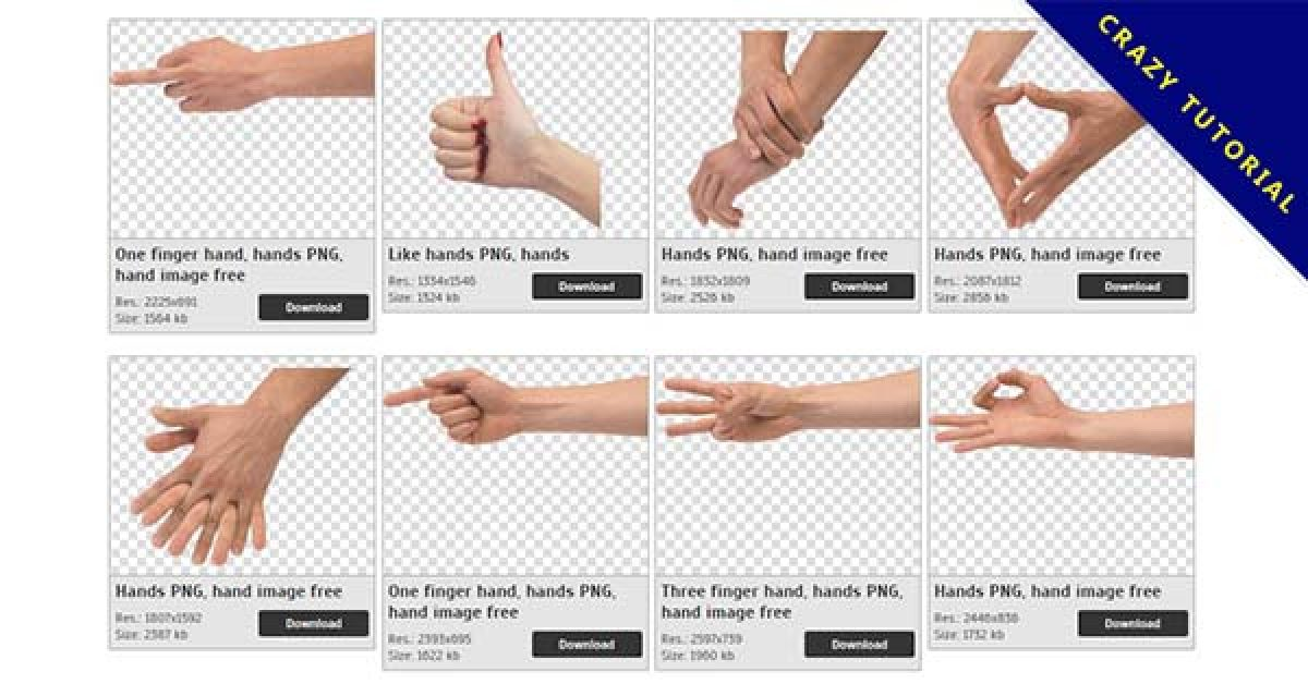108 Hands PNG images are free to download
