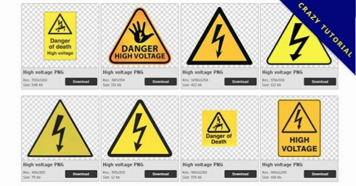 46 High voltage PNG images Collect Free Download