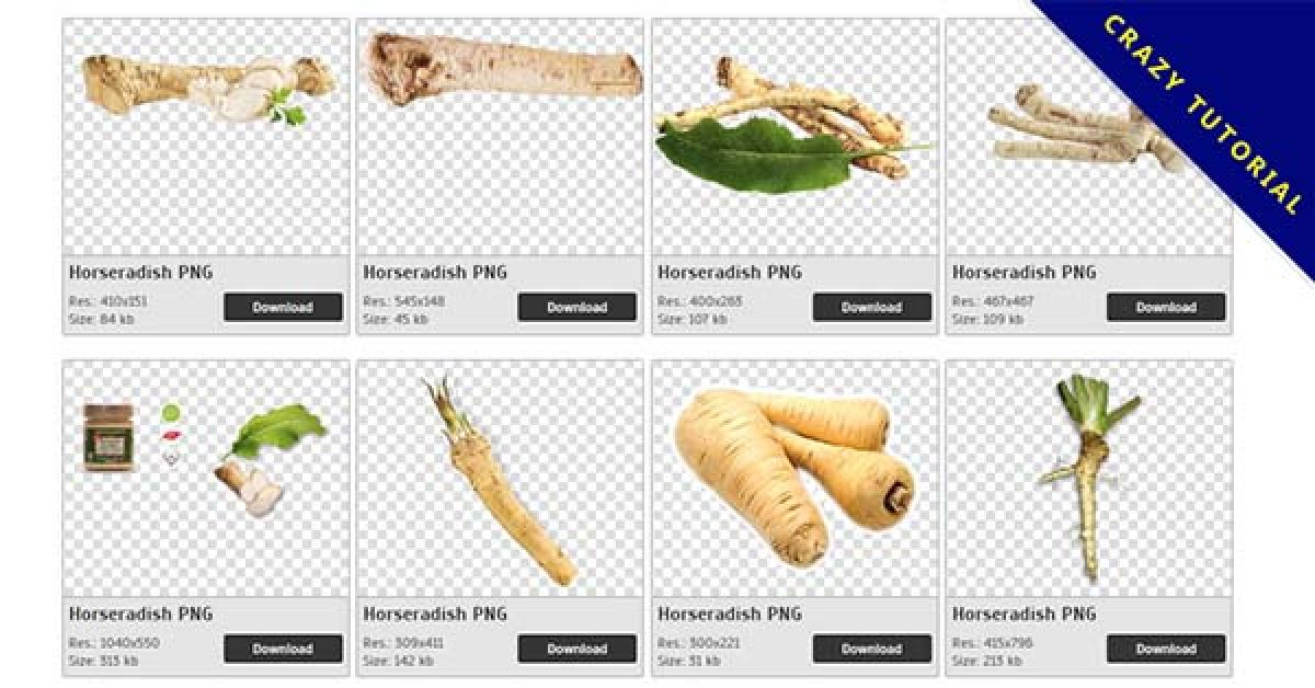 13 Horseradish PNG images for free download