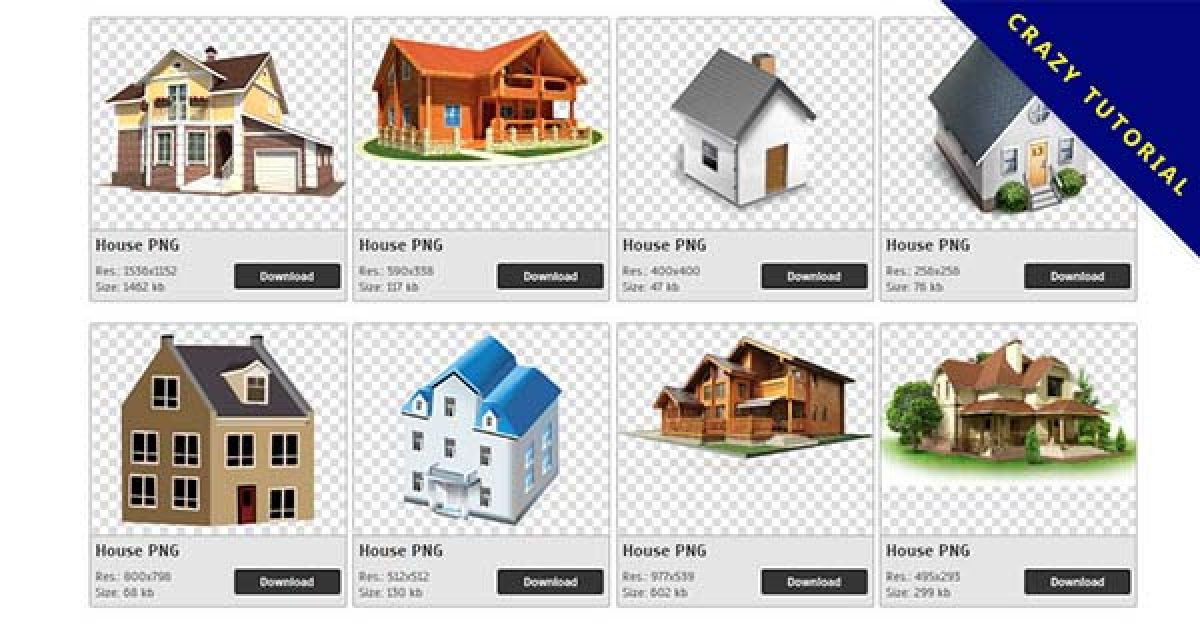 74 House PNG image collections are free to download