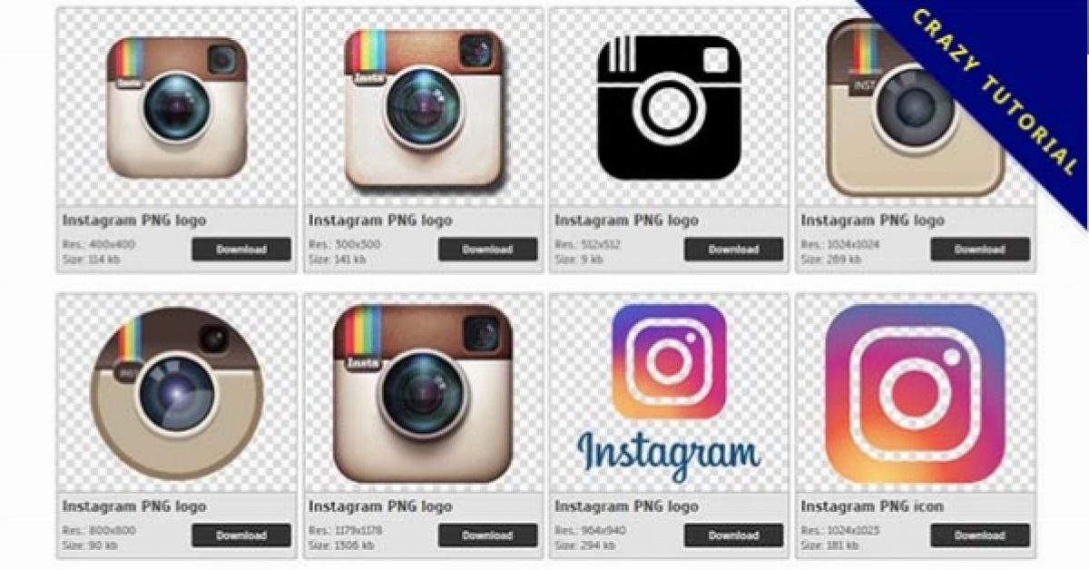 18 Instagram Logo PNG image collection for free download