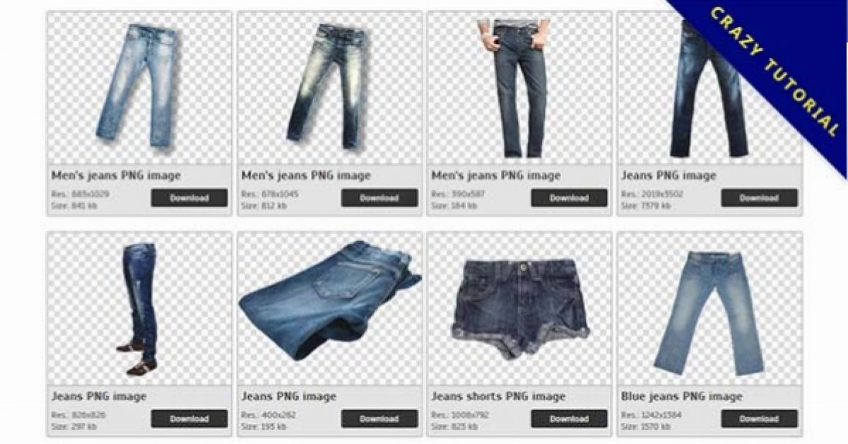 34 Jeans PNG images are free to download