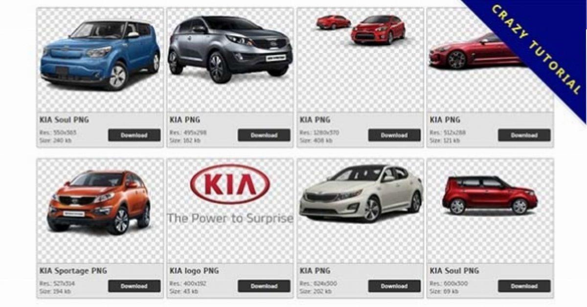 105 KIA PNG images are free to download