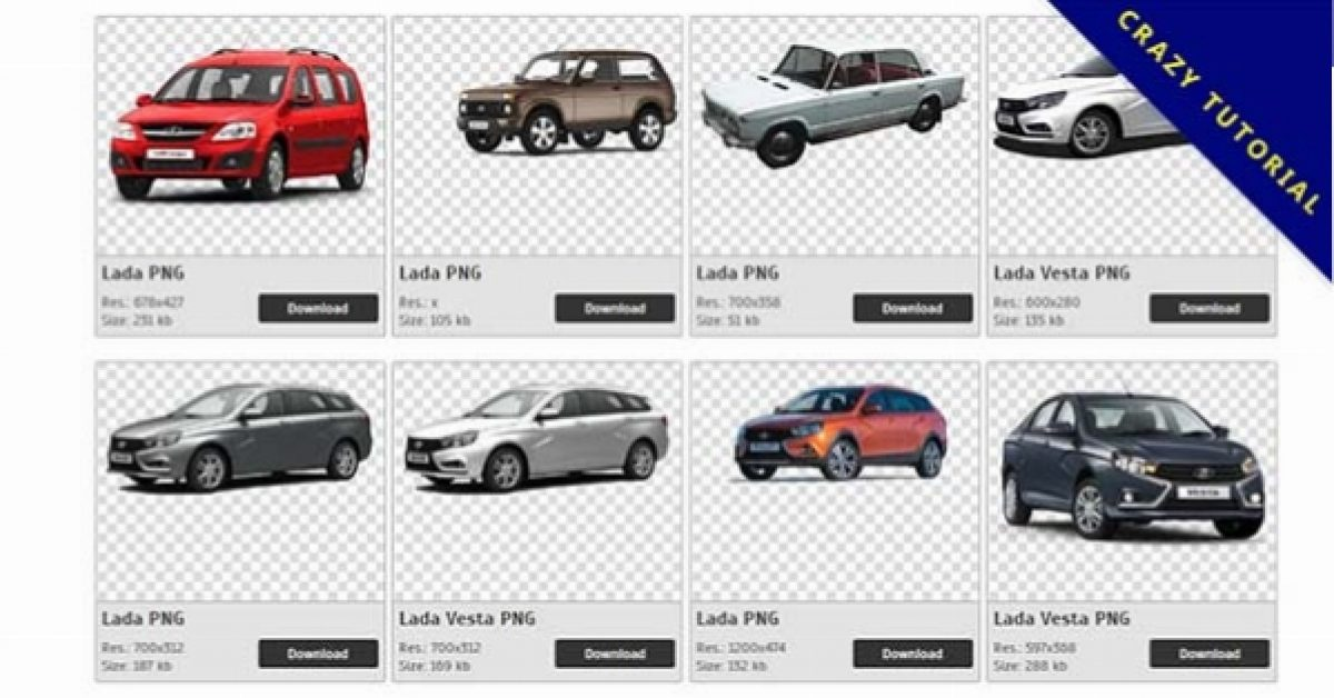 150 Lada PNG images are free to download