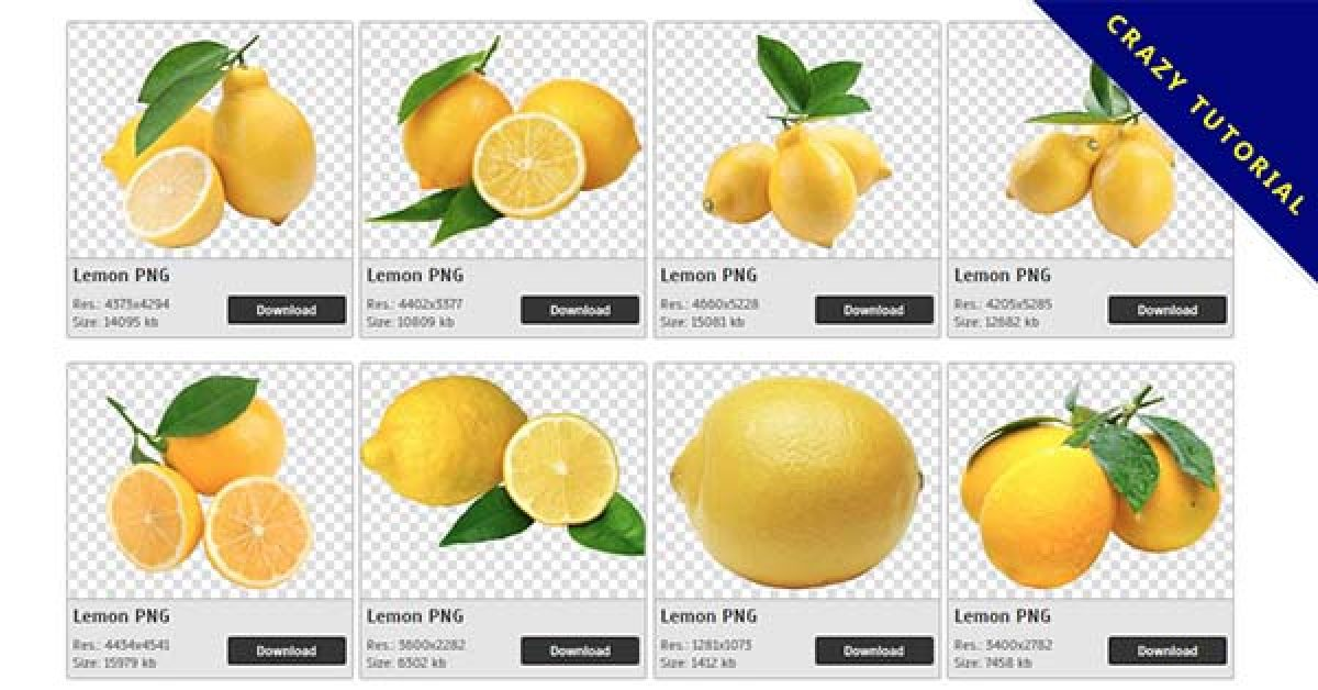 57 Lemon PNG images are available for free download