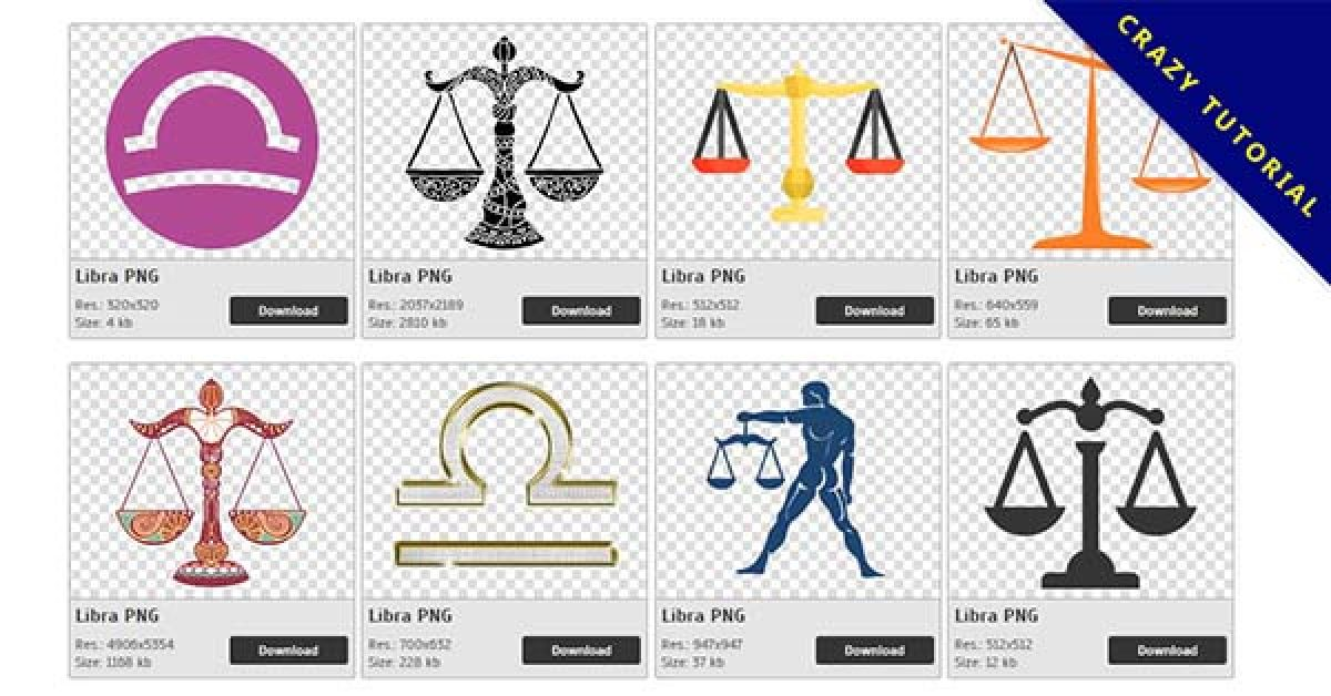 Libra PNG image collection – free download