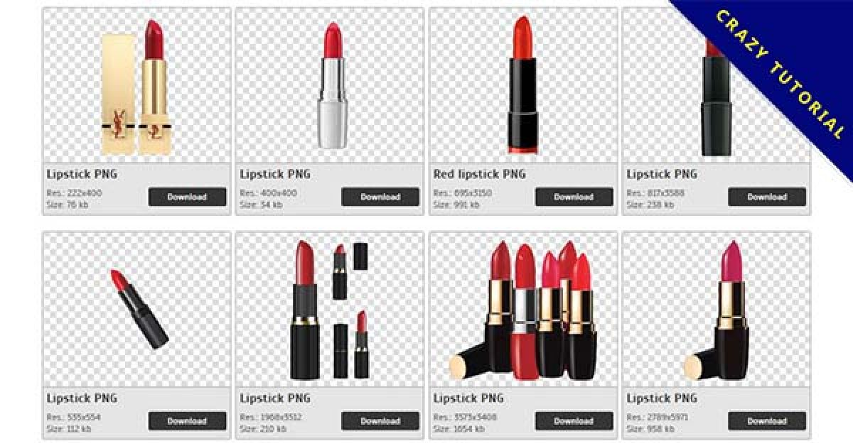 50 Lipstick PNG images free to download